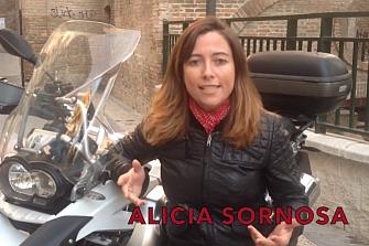 Alicia Sornosa nos envía un vídeo con su apoyo a la Manifestación