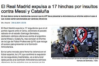 El periódico Faro de Vigo rectifica