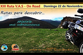 XIIIª RUTA VAS - On Road (actualizado)