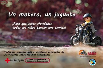 "III Campaña de Recogida de Juguetes ""Un Motero, un Juguete"""