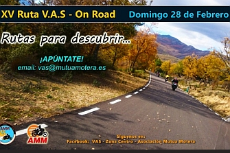 XV RUTA VAS - On Road