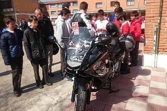Los Voluntarios AMM imparten charlas de Seguridad Vial a los chavales de Madrid