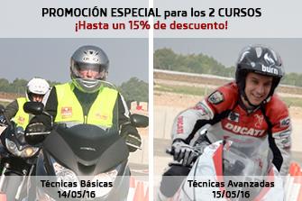 CURSO DE TÉCNICAS DE CONDUCCIÓN DE MOTOCICLETAS con EMILIO ZAMORA