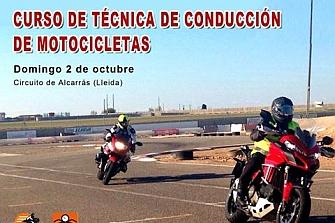 Curso de Técnicas de Conducción de Motocicletas impartido por la Escuela Nacional de Conducción de Motocicletas