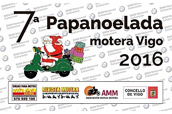 Éxito de asistencia de la 7ª Papanoelada organizada por Moto Club Galicia