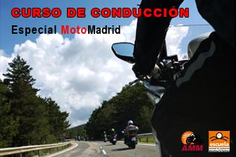 Curso de Conducción de Motocicletas en MotoMadrid
