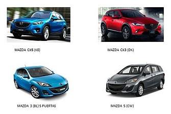 Riesgo de pérdida de combustible en los Mazda