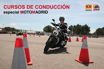 Curso de Conducción de Motocicletas en MotoMadrid 2018