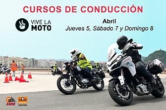 Cursos de Conducción de Motocicletas en el Salón Vive la Moto!