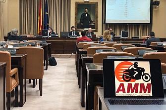 La Asociación Mutua Motera Comparece ante el  Congreso de los Diputados