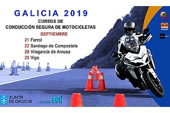 Cursos de Conducción de Motocicletas Galicia 2019 2º Semestre