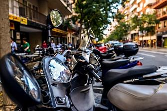 Reunión del Grupo de Trabajo Motos en el Ayuntamiento de Barcelona