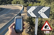 Declarada la alerta de riesgo en la carretera ZA-321 en Zamora