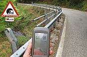 Declarada la alerta de riesgo en la carretera NA-4114 en Navarra