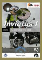 Invictus I Plan de acción 2012 / 2014