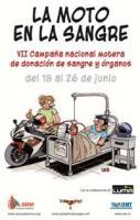 La Asociación Mutua Motera organiza la VII Campaña Nacional Motera de Donación de Sangre y Órganos