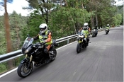 La Carretera MA-5400 se cierra al tráfico para Cursos de Conducción de Motocicletas