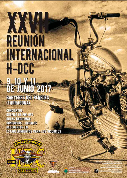 XXVII REUNIÓN INTERNACIONAL HARLEY DAVIDSON CLUB CATALUNYA