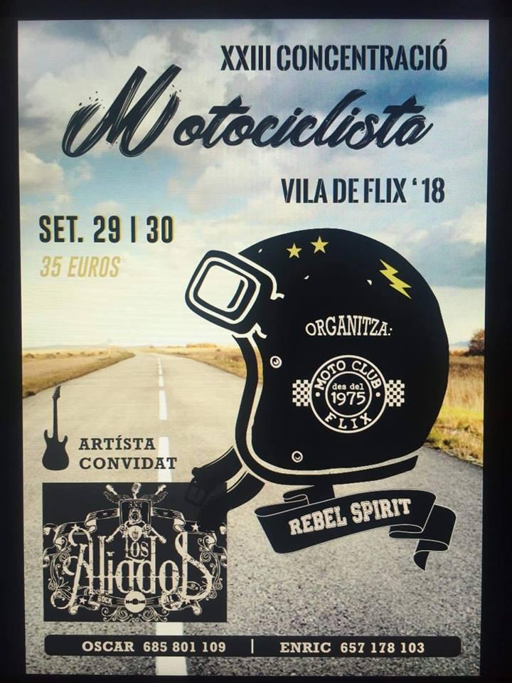 XXIII Concentración Motociclista Vila De Flix