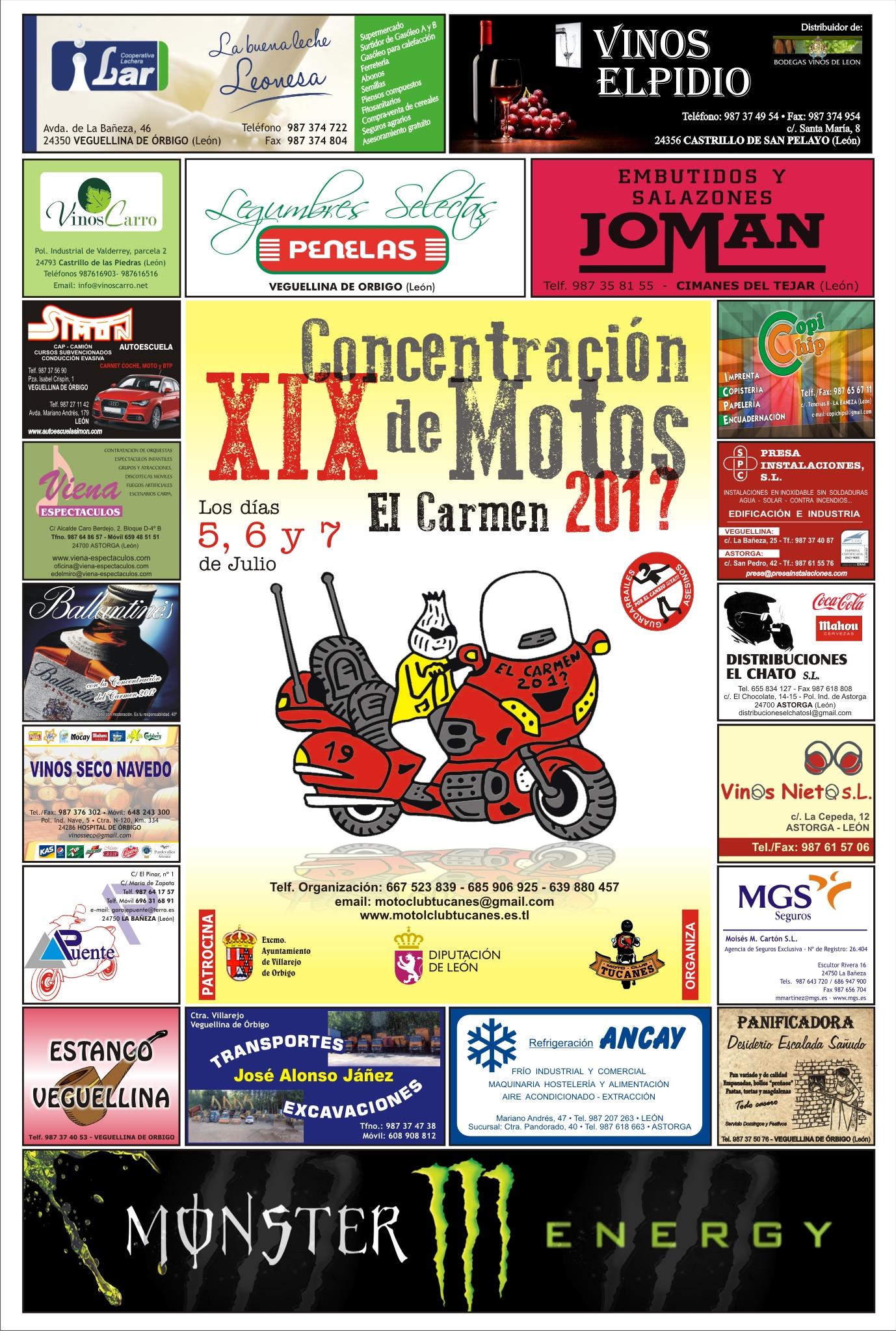 XIX CONCENTRACION DE MOTOS EL CARMEN 2013