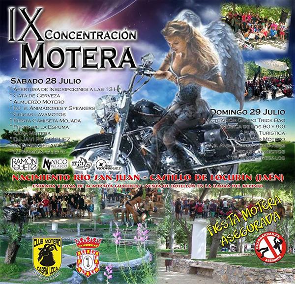IX Concentración Motera Castillo de Locubín 2018