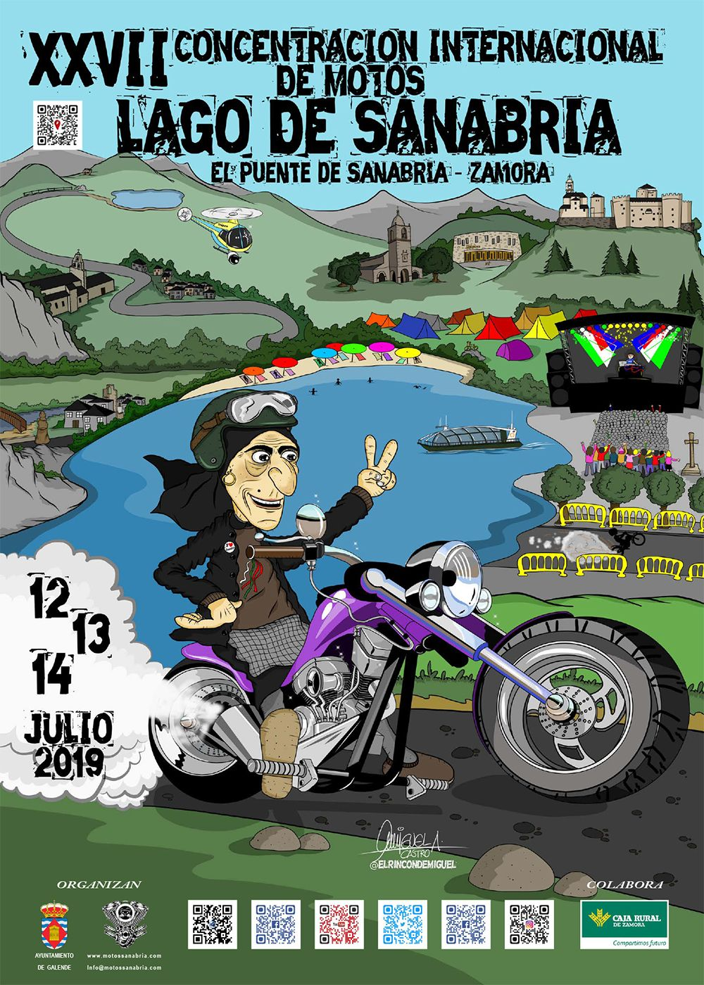 Concentración de Motos Lago de Sanabria XXVII
