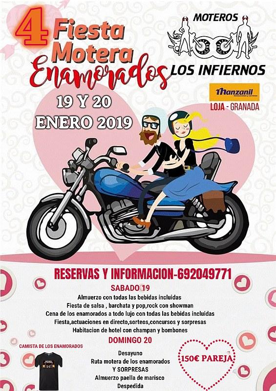 4 Fiesta Motera Enamorados