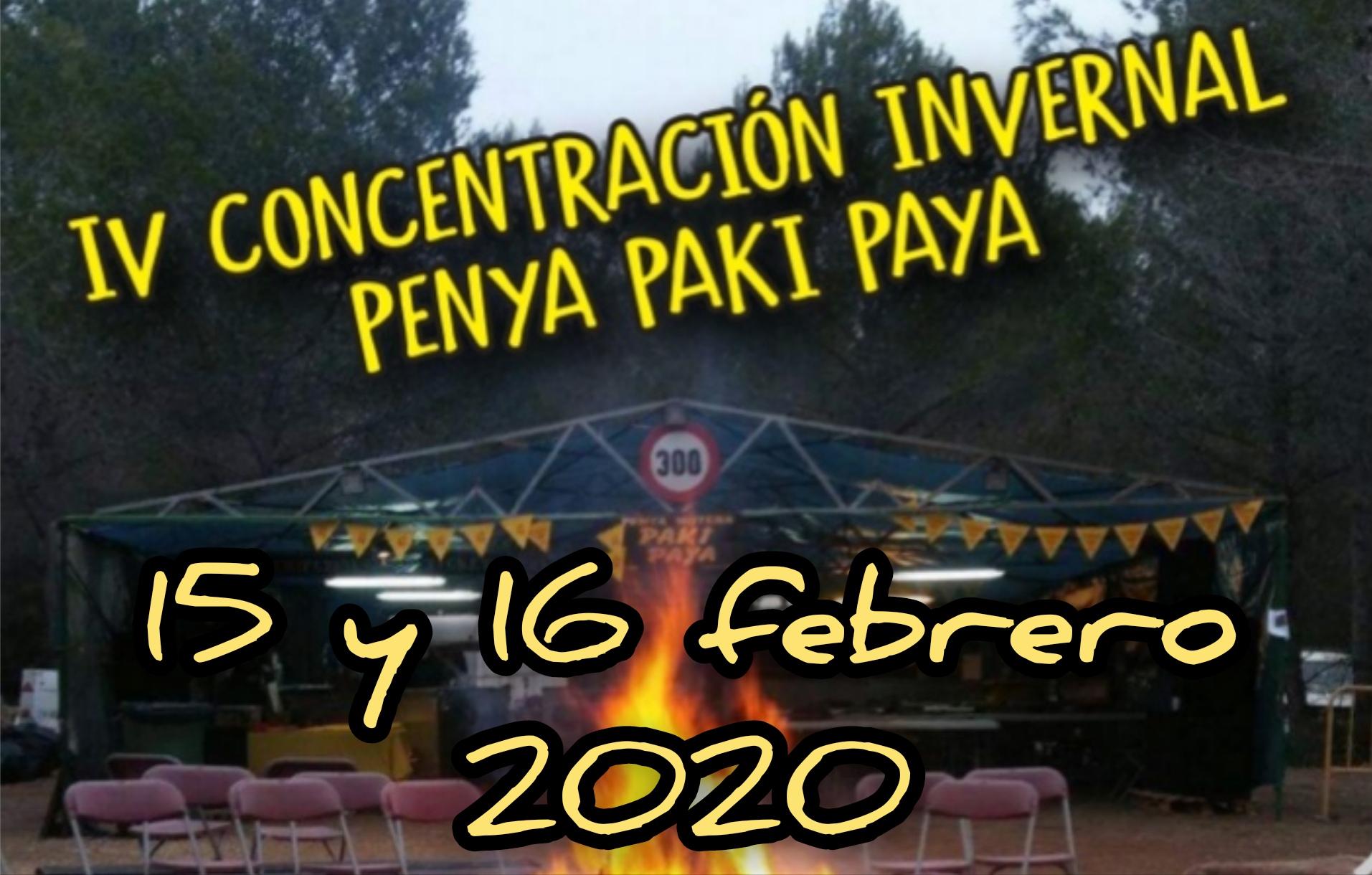 IV Concentración Invernal Penya Paki Paya
