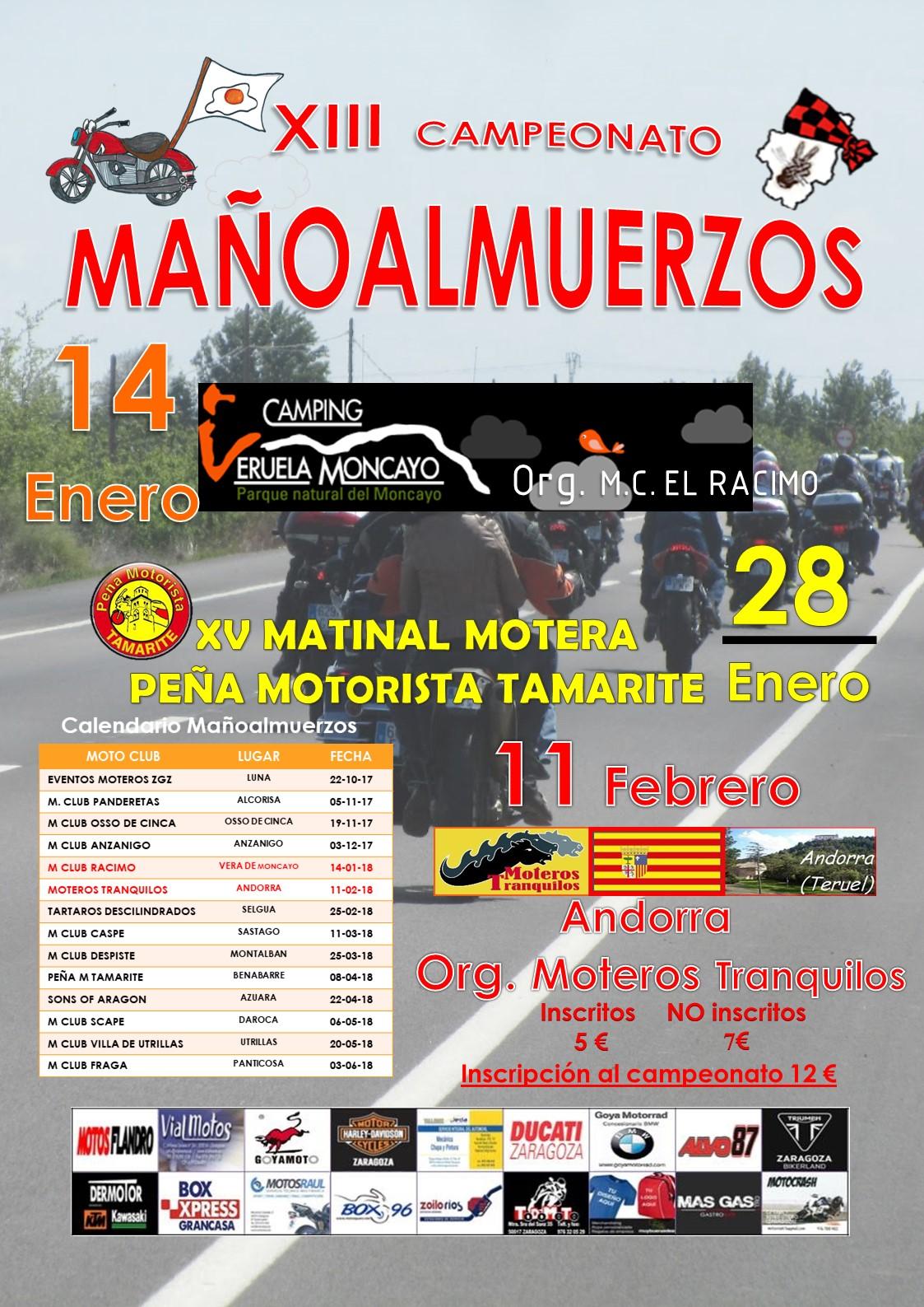 XIII Campeonato de Mañoalmuerzos