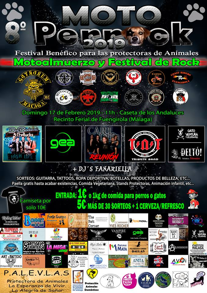 VIII Festival Benéfico Moto-Perrok 2019