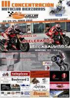 III CONCENTRACION MOTOCLUB BIERZORROS