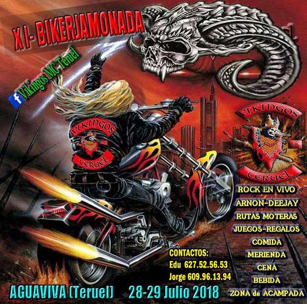 XI Concentración Motera Biker Jamonada