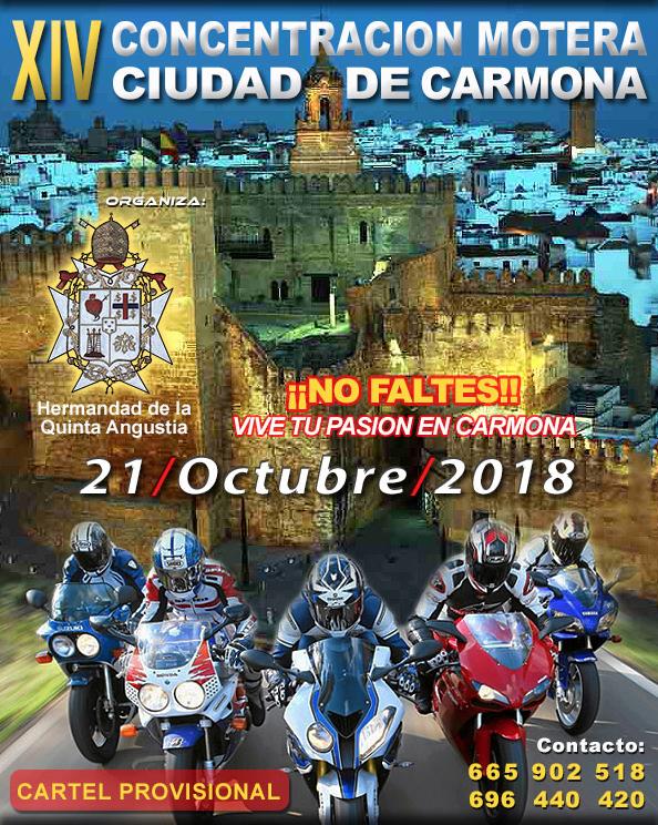XIV Concentración Motera Ciudad de Carmona