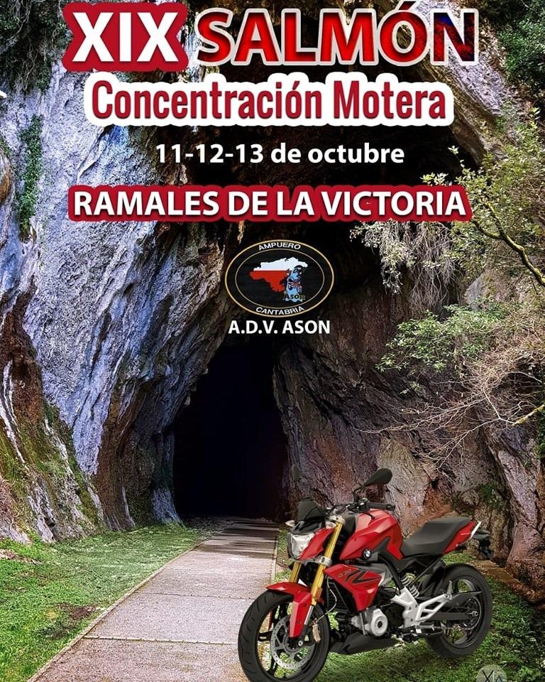 XIX Concentración de Motos Salmón