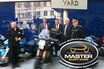 """El programa MASTER reduce a """"0"""" las motos robadas en Londres"""