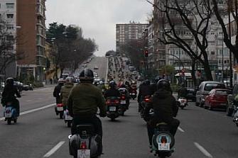 Comparte Madrid logra reunir a 1.200 personas por la Seguridad Vial