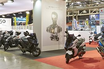 Kymco en el Salón BCN Moto 2015