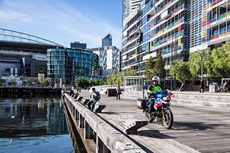 Un día en moto-ambulancia por Melbourne