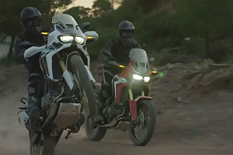 Honda nos muestra la `Africa Twin´ en todo su esplendor