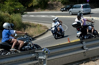 Balance fin de semana:  5 fallecidos, 3 eran motoristas