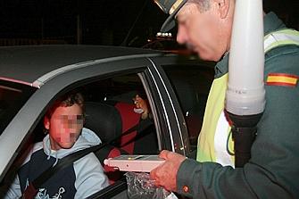 2.405 conductores denunciados por alcohol o drogas