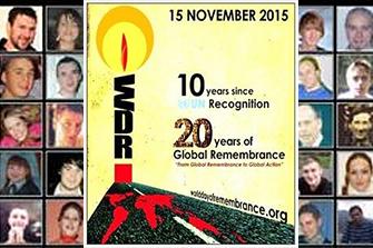 Día Mundial en Memoria de las Víctimas de Tráfico
