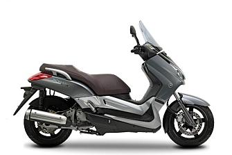 Riesgo de pérdida de eficacia del freno en las Yamaha X-max 400