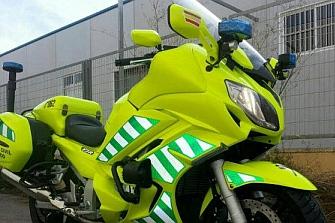 `Alta visibilidad´ en las nuevas motos de la Guardia Civil