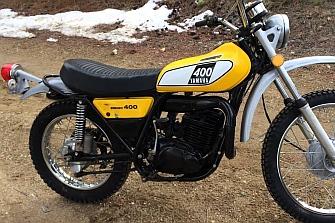 La familia Sport Heritage podría contar con una  nueva integrante la `Yamaha DT400´