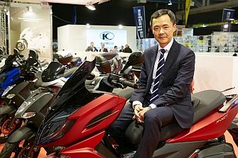 Kymco lanzará cinco modelos Euro 4