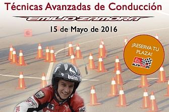 EMILIO ZAMORA, Monitor de la Escuela Nacional de Conducción de Motocicletas