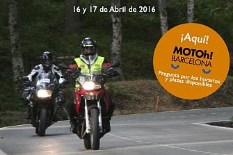 Curso de Conducción de Motocicletas en el MOTOh! de Barcelona