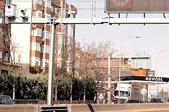 El radar que más multa de Madrid baja su límite de 70 a 50 km/h