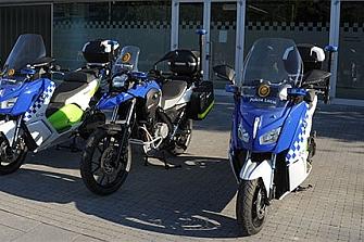 La Policía Local de Úbeda adquiere dos motos eléctricas